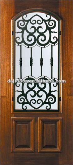 Puertas principales de forja herreria y forja puertas de for Puertas hierro forjado