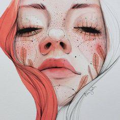 "(@art_supernova) no Instagram: ""Beautiful artwork by @anasantos_illustration"