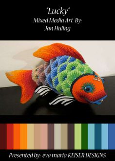 Colorway:  Jan Huling  WEBSITE:  http://janhuling.com/