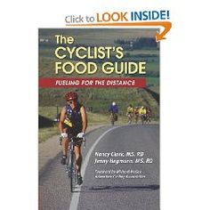 The Cyclist's Food Guide: Fueling for the Distance (Nancy Clark, RD): A nutrition guide for novice and seasoned cyclists who want to help themselves for long rides, races, tours, and cycling adventures that last hours, days, or weeks.