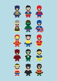 Mario...Superheroized