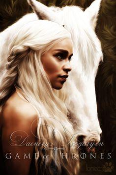 Daenerys Targaryen : Game of Thrones by RottonNymph on deviantART