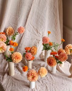 Wedding Table Centerpieces, Floral Centerpieces, Wedding Linens, Floral Wedding, Narrow Dining Tables, Table Garland, Lace Table Runners, Centre Pieces, Bud Vases