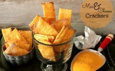 ~Mac & Cheese Crackers!