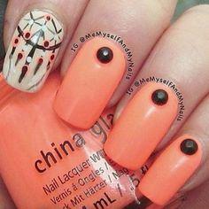 Instagram photo by memyselfandmynails #nail #nails #nailart dreamcatcher nail art
