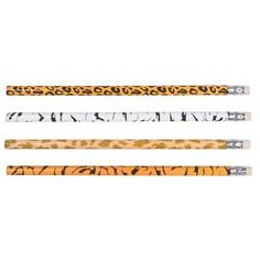 Favors : ) Safari Animal Print Pencils (1 dz) by Rhode Island Novelty, amazon.com