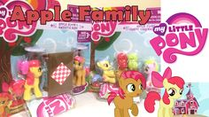 My Little Pony Apple Family Playsets!  Apple Bloom Babs Seed! Apple Flors Candy Caramel