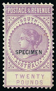 . South Australia, Queen Victoria, Postage Stamps, Country, Antiques, Handmade, Seals, Antiquities, Antique