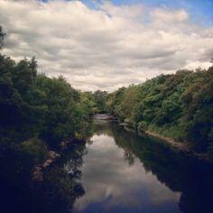 River Kent from Dockwray Bridge, Kendal