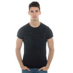 Tee Shirt Calvin Klein CMP30C Noir