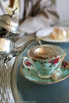 Simple afternoon tea
