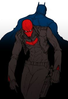 Red Hood and Batman