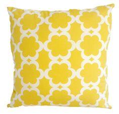 Cushion Yellow 'Hampton Bays'  cover only
