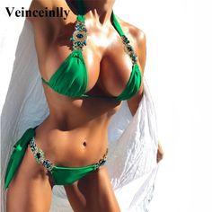 5d9e82c020 Diamond Rhinestone Bikini Price  48.63 USD  amp  FREE Shipping  activewear   gymstyle