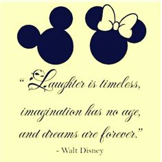 O riso é atemporal. A imaginação não tem idade, e os sonhos são para sempre.