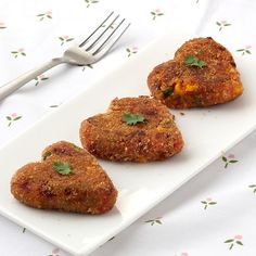 Vegetable Cutlet -  Crispy vegetarian tikkis made of  potato and mixed vegetables - Shallow fried in less oil - Kids special healthy snack - Party speical food - Step by Step Photo Recipe