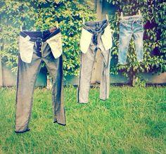 Trois gars, trois tailles différentes ! #Jeans