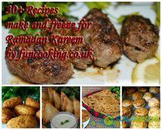 30  Recipes you can make and freeze for Ramadan Kareem