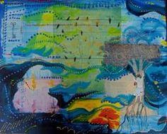 Colagem e pintura sobre tela 2013