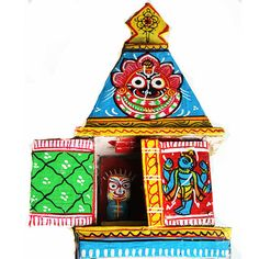 Wooden Temple of Lords Jagannath Balabhadra And by TIWcompany