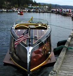 great wooden boat