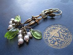 Christmas Wedding Jewellery. Mistletoe Bride. by feralstrumpet, £30.00