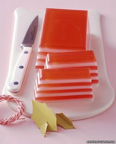 Delight someone with a fresh-scented and boldly striped soap.