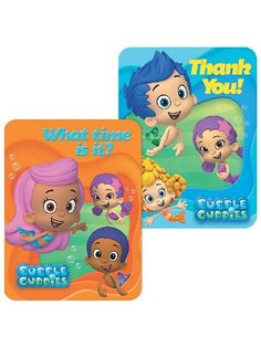 Bubble Guppies Invitations and Thank You Notes 8 Ct