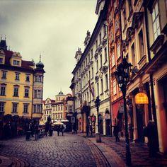 Prague streetscape - Czech Republic
