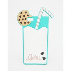 Lolli Milk & Cookies iPhone 6 Case ($32) ❤ liked on Polyvore featuring accessories, tech accessories, multi and lolli swim