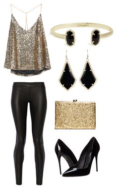 """New Years Eve"" by emily-autumn-haynes on Polyvore featuring The Row, Dolce&Gabbana and Kendra Scott"