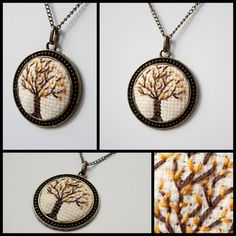 736 × 736 pixels - Jewelry World Tiny Cross Stitch, Cross Stitch Tree, Cross Stitch Bookmarks, Cross Stitch Needles, Cross Stitch Alphabet, Counted Cross Stitch Patterns, Cross Stitch Designs, Cross Stitch Embroidery, Embroidery Jewelry