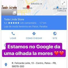 """12917eadd TODA LINDA por Fran Barbosa on Instagram  """"Também estamos no Google"""