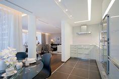 Luxury Kitchen in Atrium Building - London | SISSY FEIDA INTERIORS