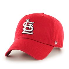 88fe1cc6070 St. Louis Cardinals Clean Up Home 47 Brand Adjustable Hat