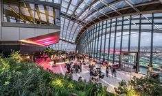 Skip the London Eye and get a bird's-eye view of the city from the Sky Garden. | 24 Underrated Tourist Attractions You Need To See Instead Of The Usual Ones