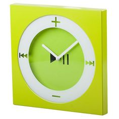 Green wall art is an amazing way to add life to your walls. Moreover green wall art will make your home feel relaxing, unique and inviting.  In fact, the color green symbolizes energy, renewal, healing, abundance and growth which is why green wall decor is so popular.EdgeVantage Trendy Wall Clock Pop Art Decorative Square Modern Bright Green Fun