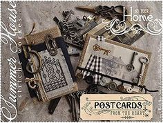 Summer House Stitche Workes - Postcards From The Heart - #4 Home – Stoney Creek Online Store