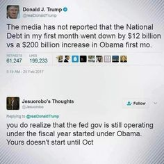 Do trump supporters realize this? Nothing good that has happened this year is thanks to the Trump Administration.... nothing....