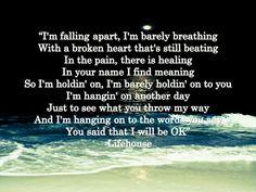 Broken~Lifehouse