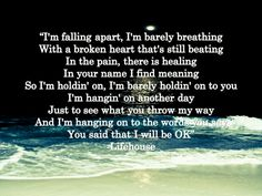 Broken~Lifehouse