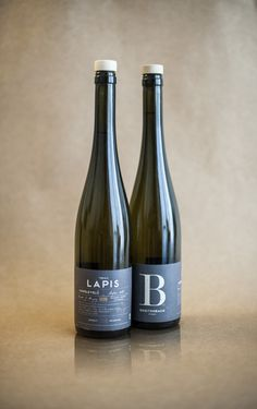 Breitenbach wine, Lapis by Nora Horvath, via Behance
