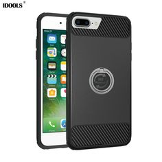 >> Click to Buy << For iPhone 7 Plus Case Back Covers Ring Holder Mobile Phone Accessories Bags Cases for iPhone 6S 6 Plus Fundas Coque 5.5 Cover #Affiliate