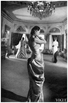 Charles James Vogue, December 15, 1944 (Cecil Beaton)