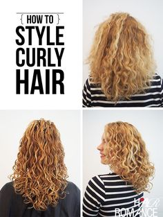 curly curly hair tutorial natural curly hairstyles romances curly hair ...
