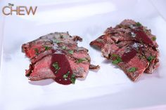 Michael Symon's Seared Porterhouse Steaks #TheChew