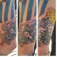 #kingdomhearts #disney #gamer #keithmillertattoo @empire_tattoo_boston #tattoo #bostontattoo www.empiretattooinc.com