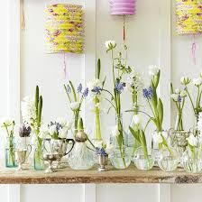 Perfect way to display simple spring blooms  #ParkerKnoll