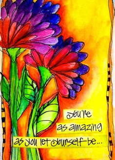 You're as amazing as you let yourself be... joanne sharpe il_570xN.237962485…