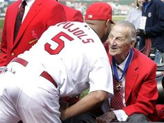 Great story about Albert Pujols and Stan Musial :) Rest in Peace Stan the Man